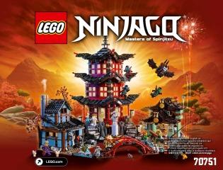 Notice de montage  LEGO 70751