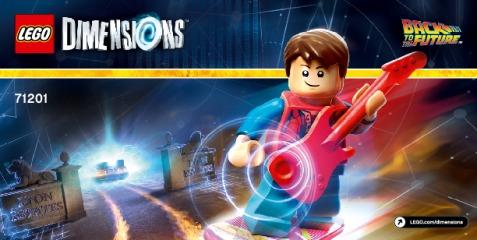Notice de montage  LEGO 71201