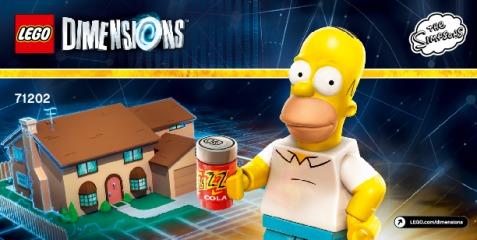 Notice de montage  LEGO 71202
