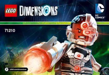 Notice de montage  LEGO 71210