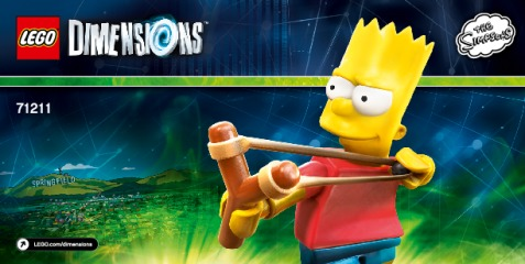 Notice de montage  LEGO 71211