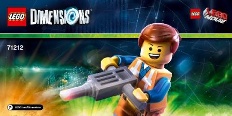 Notice de montage  LEGO 71212