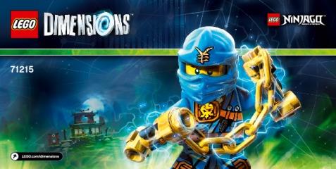 Notice de montage  LEGO 71215