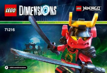 Notice de montage  LEGO 71216