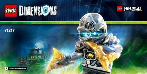 Notice de montage  LEGO 71217