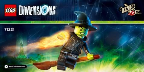 Notice de montage  LEGO 71221