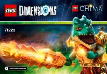 Notice de montage  LEGO 71223