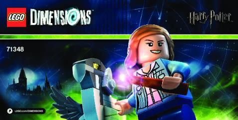 Notice de montage  LEGO 71348