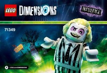Notice de montage  LEGO 71349
