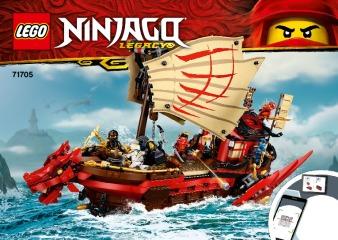 Notice de montage  LEGO 71705