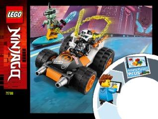 Notice de montage  LEGO 71706
