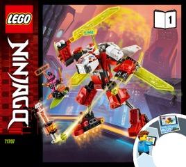 Notice de montage  LEGO 71707