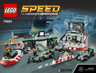 Notice de montage  LEGO 75883