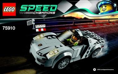 Notice de montage  LEGO 75910