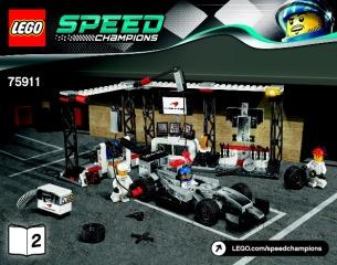 Notice de montage  LEGO 75911