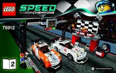 Notice de montage  LEGO 75912
