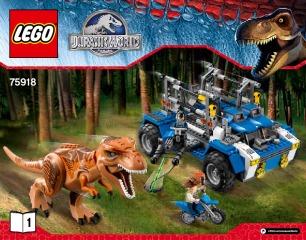 Notice de montage  LEGO 75918