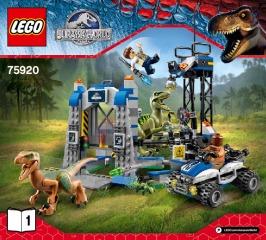 Notice de montage  LEGO 75920