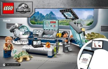 Notice de montage  LEGO 75939