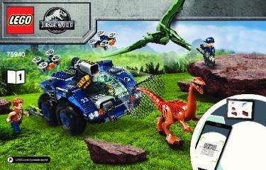 Notice de montage  LEGO 75940