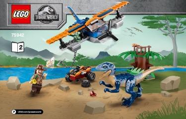 Notice de montage  LEGO 75942