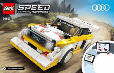Notice de montage  LEGO 76897
