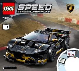 Notice de montage  LEGO 76899