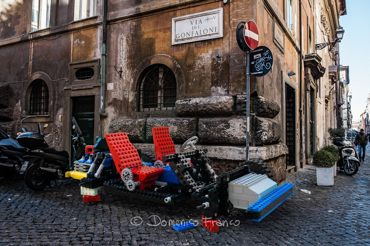 Chassis LEGO 8860 by Domenico FRANCO