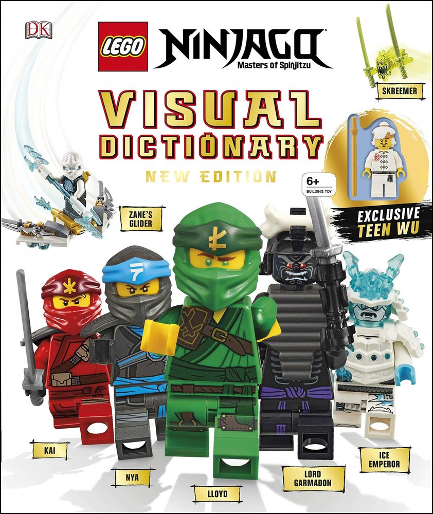 NINJAGO Visual Dictionary, New Edition