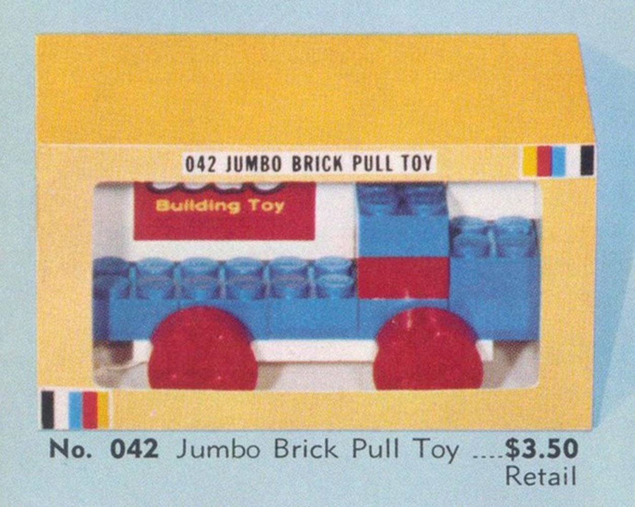 Jumbo Brick Pull Toy
