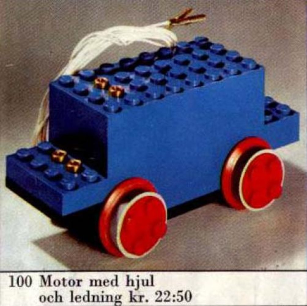 4.5V Motor with Wheels (Small Version)