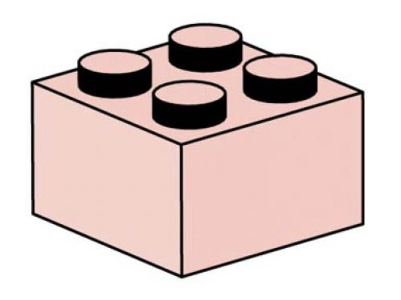 2 x 2 Sand Red Bricks