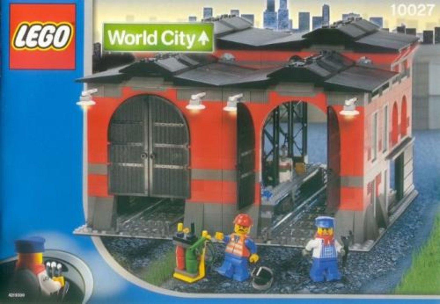 Train Engine Shed