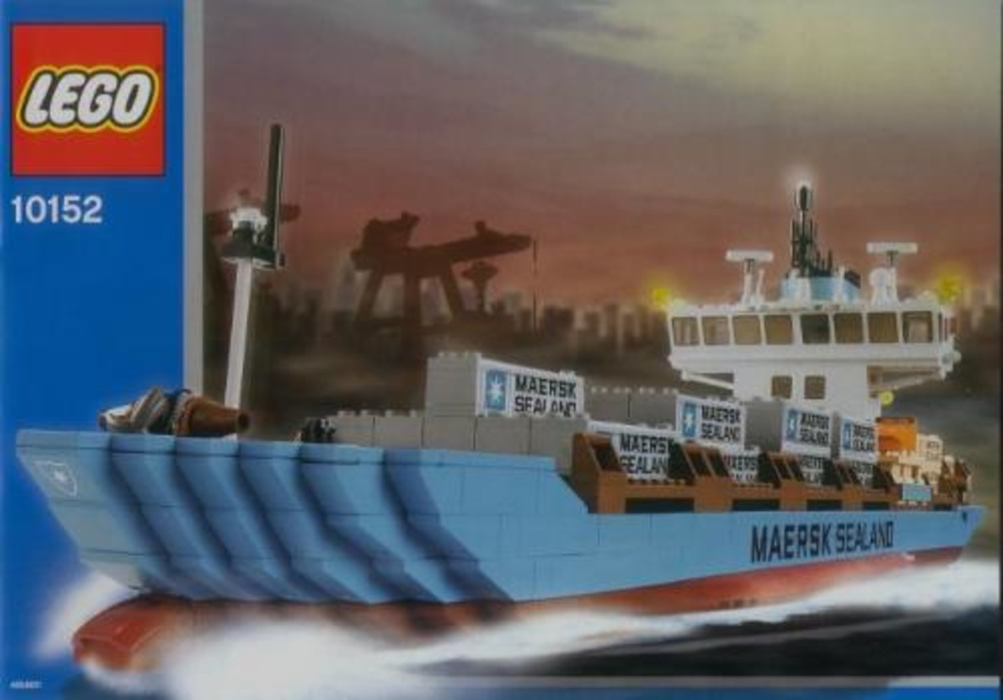 Maersk Line Container Ship 2006 Edition