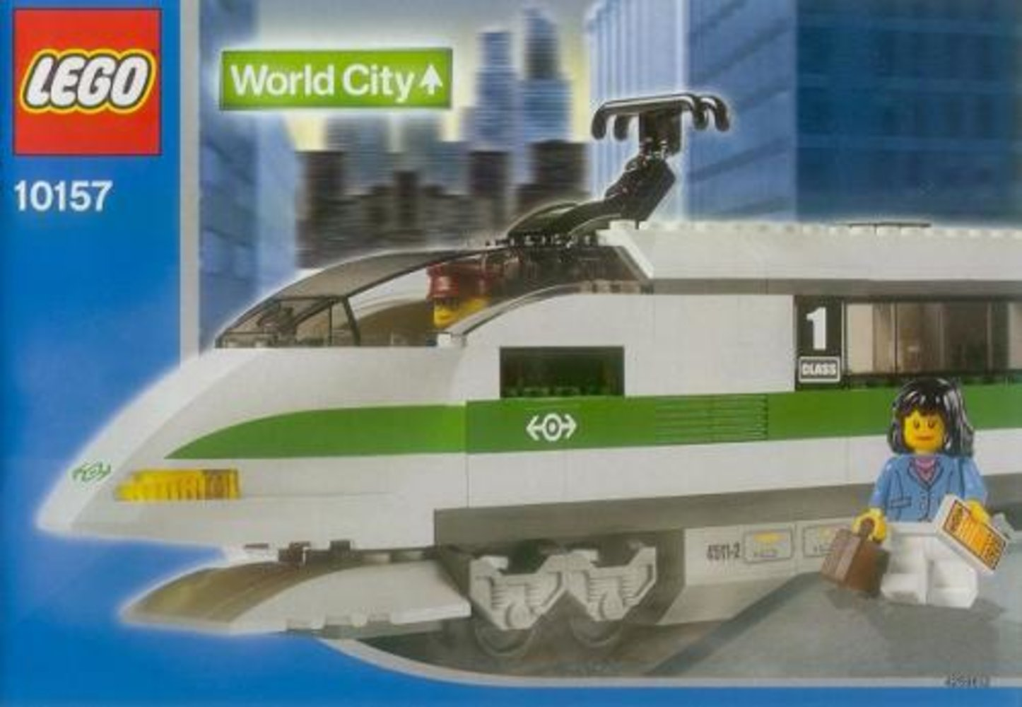 High Speed Train Locomotive
