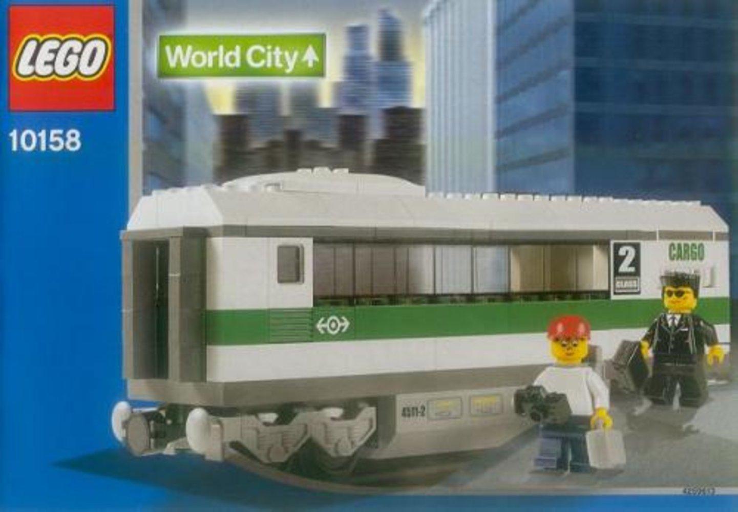 High Speed Train Car