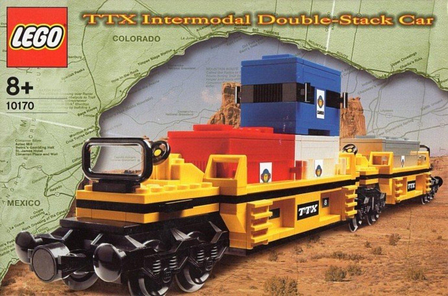 TTX Intermodal Double-Stack Car