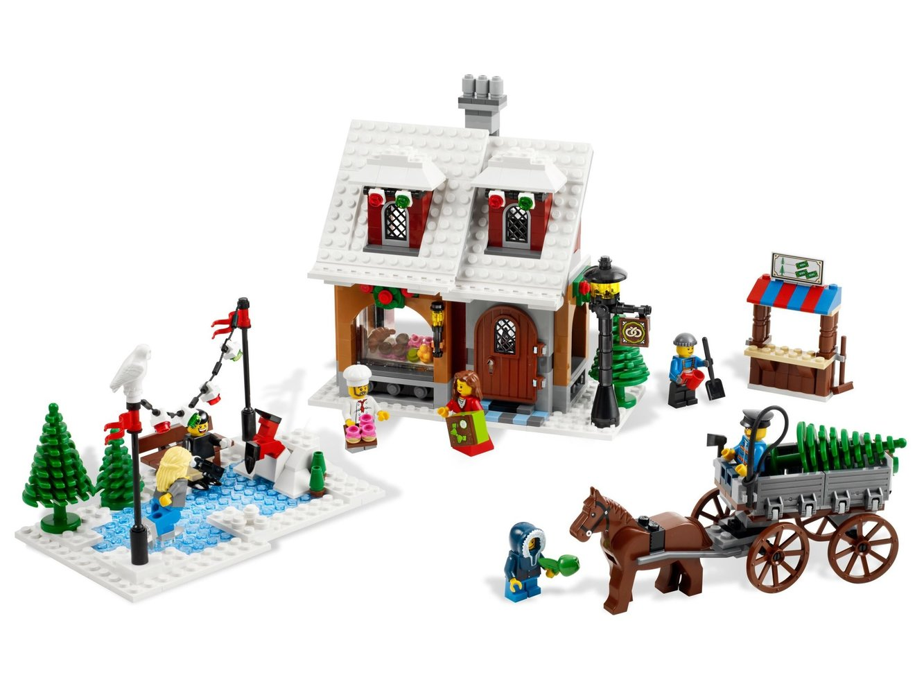 Winter Village Bakery