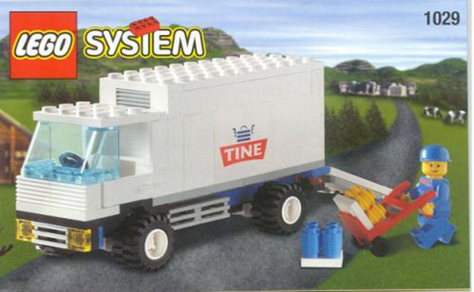 Milk Delivery Truck - Tine