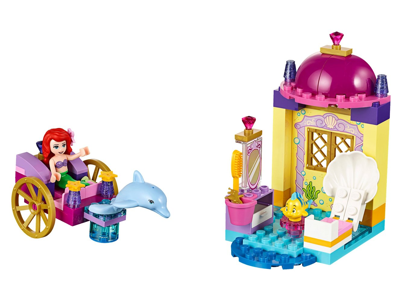 Ariel's Dolphin Carriage