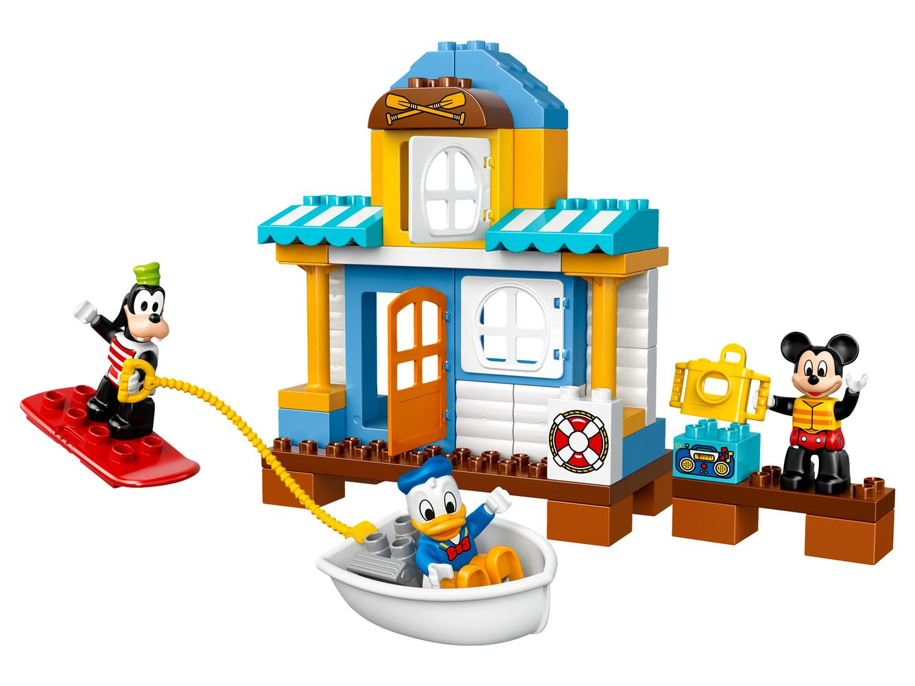 Mickey and Friends Beach House