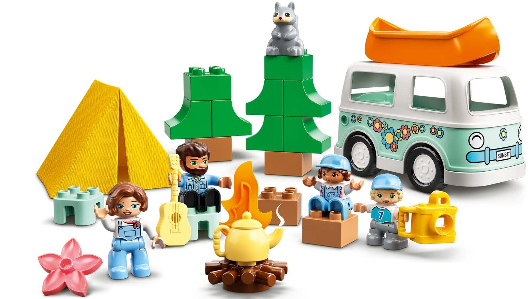 Family Camping Van Adventure
