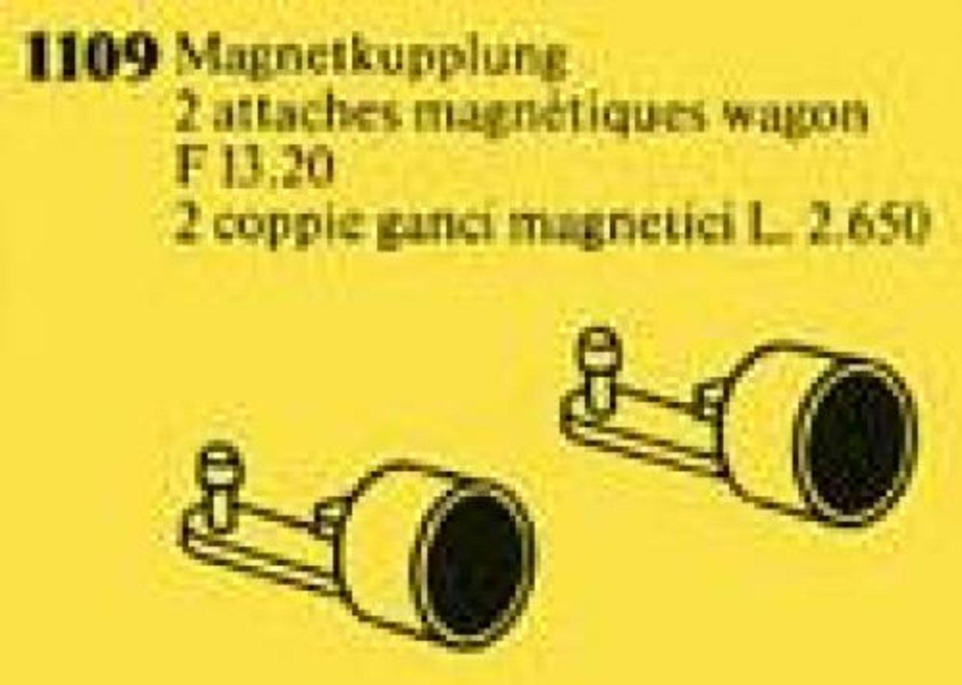 Magnetic Couplings for Railway Car