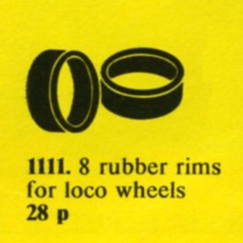 Rubber Rims for Locomotive Wheels