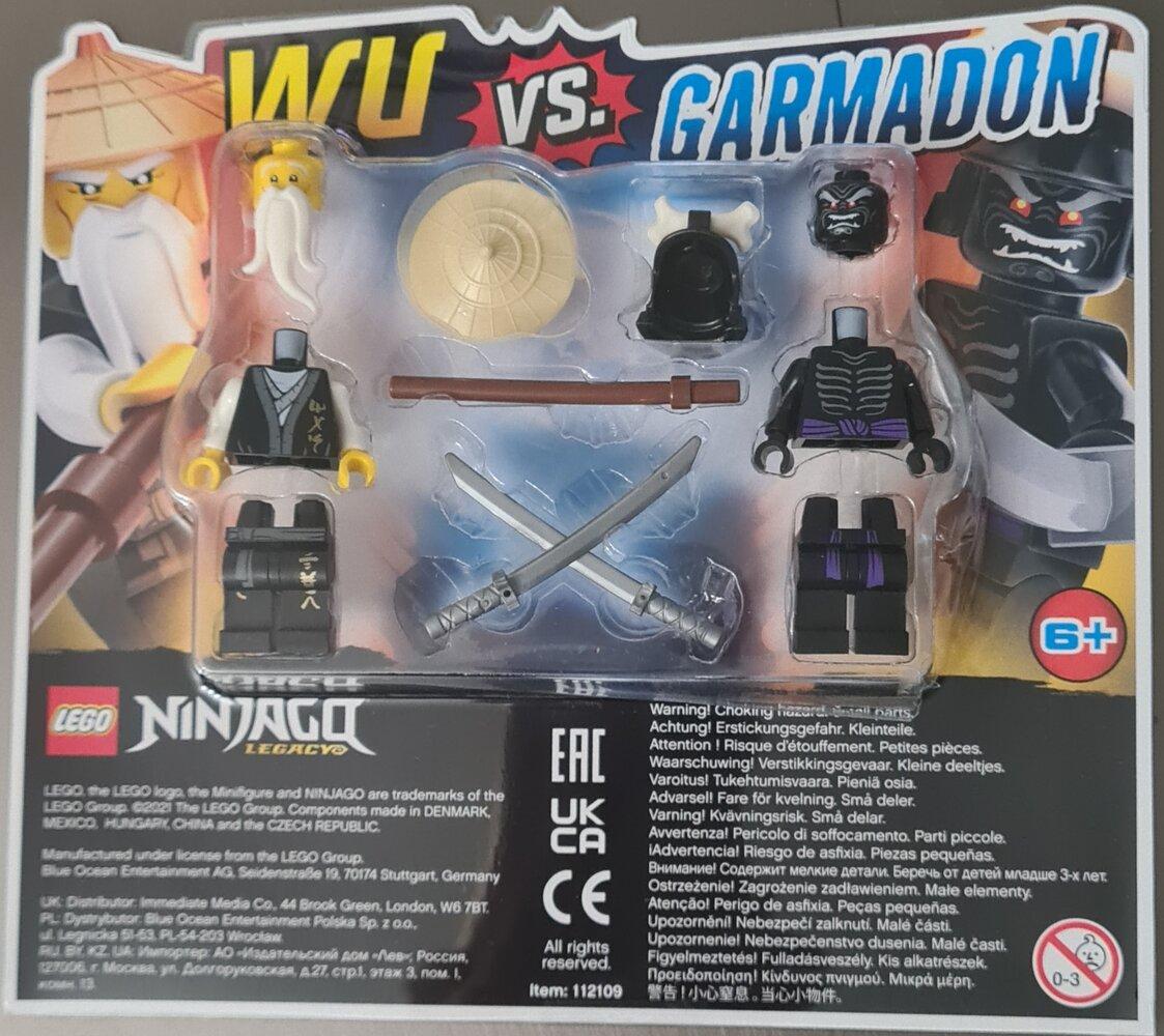 Wu vs. Garmadon