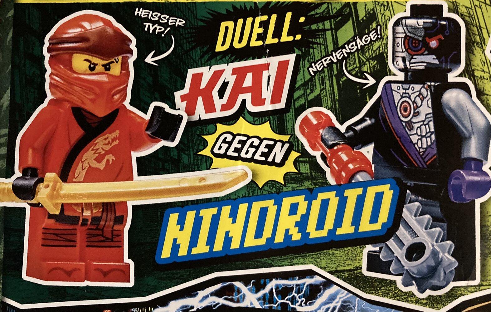 Kai vs. Nindroid