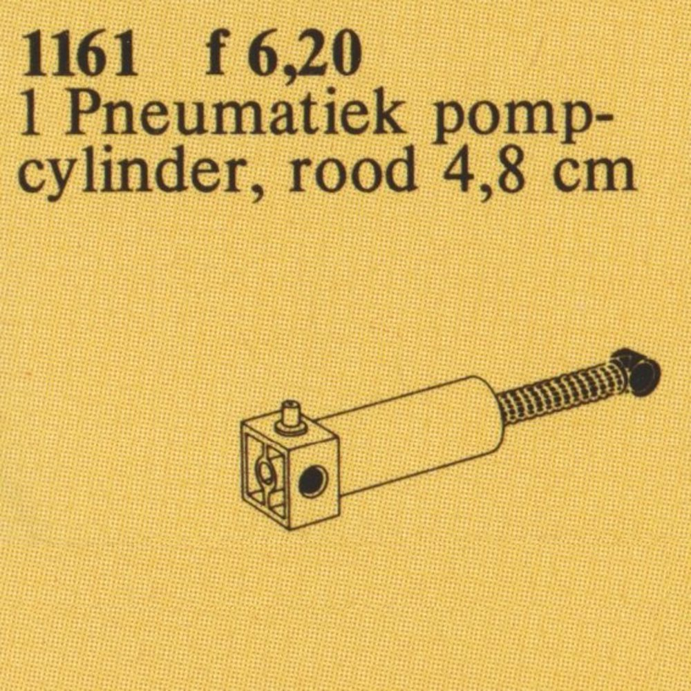 TECHNIC Pneumatic Pump Cylinder 48mm