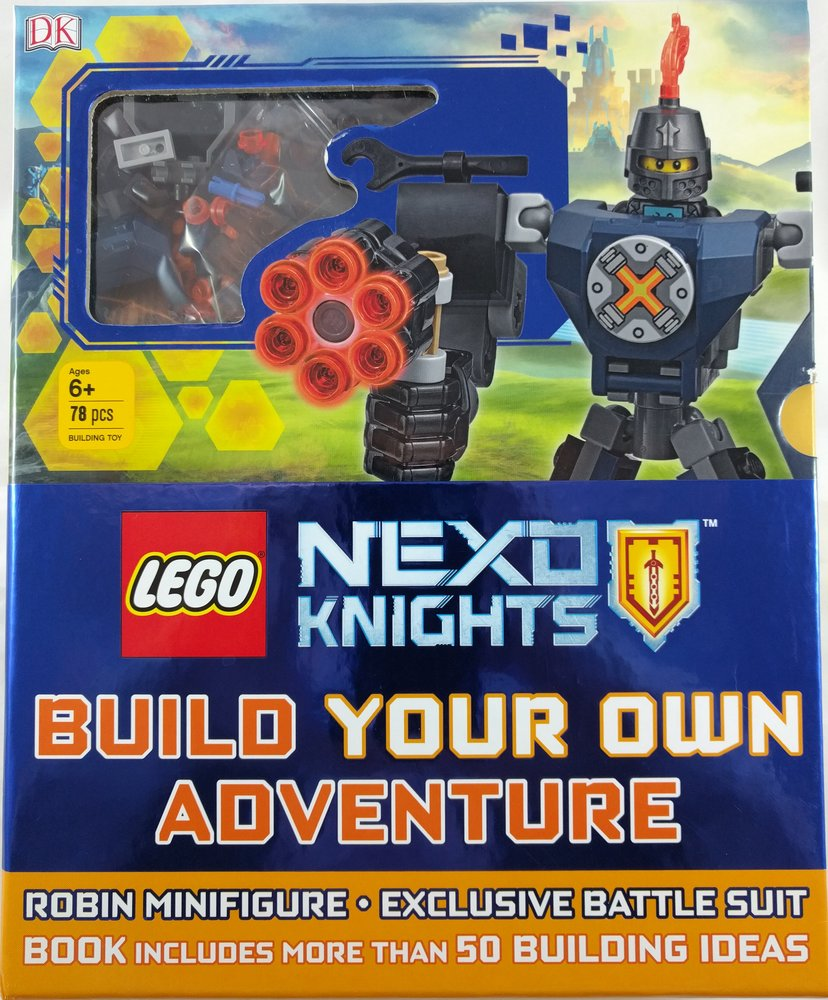 Parts for Nexo Knights: Build Your Own Adventure