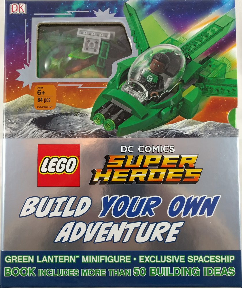 DC Comics Super Heroes Build Your Own Adventure