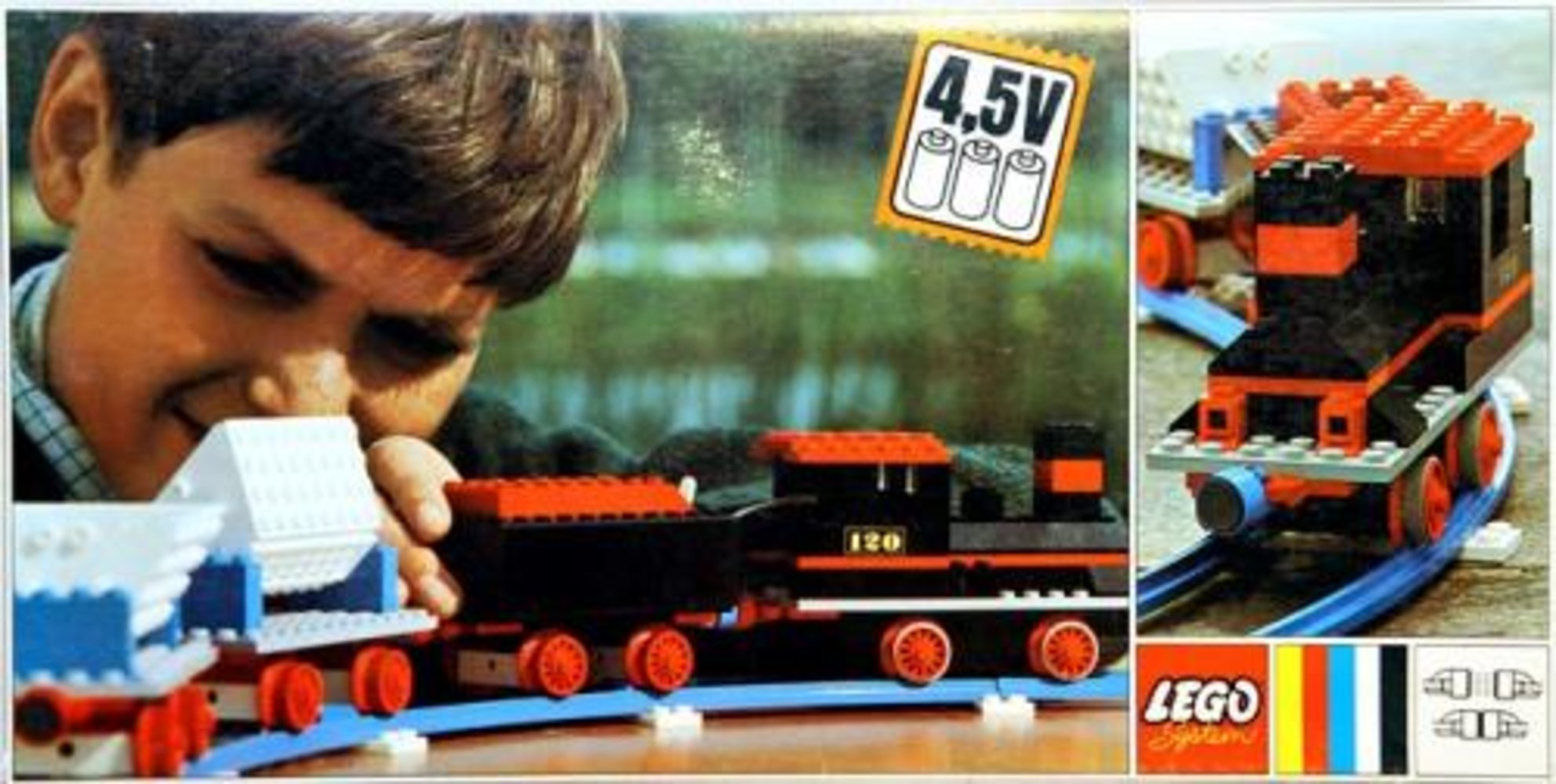 Complete Freight Train Set with Tipper Trucks